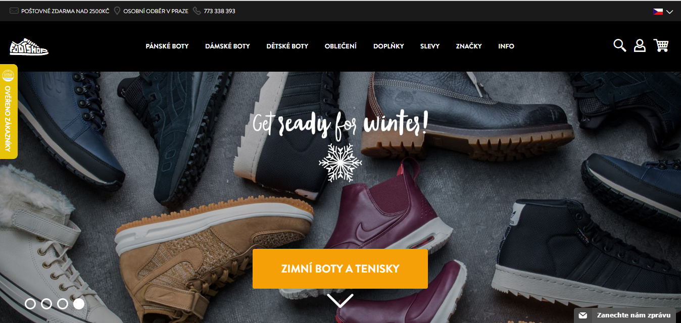Footshop.cz sleva ⇒ 20% ⇒ Buykers.com c3586010759