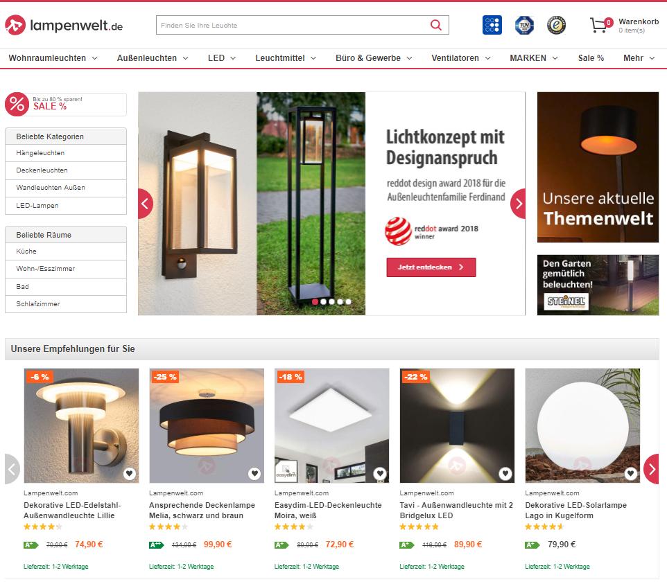Lampenwelt De Gutschein Fur Dich 75 Januar 2019 Buykers Com