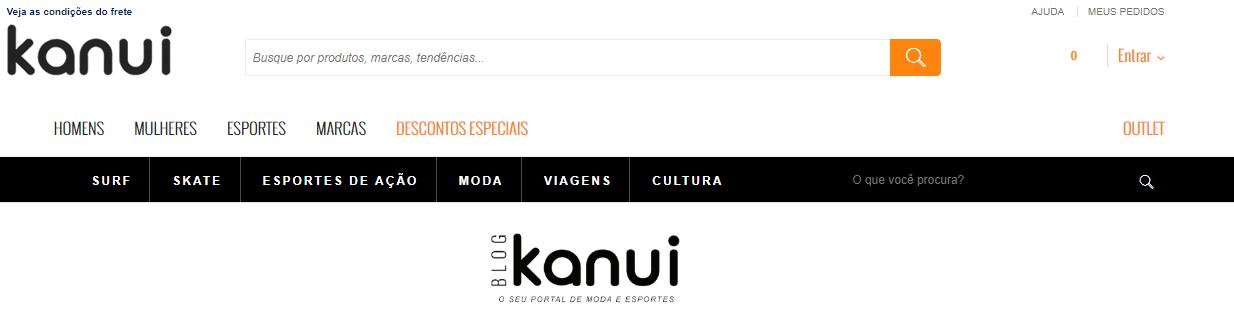 Produtos Kanui para homens e3224d497ac95